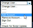Gmail multi account