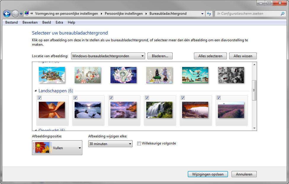 Windows 10 Bureaubladachtergronden Aanpassen Computertaal