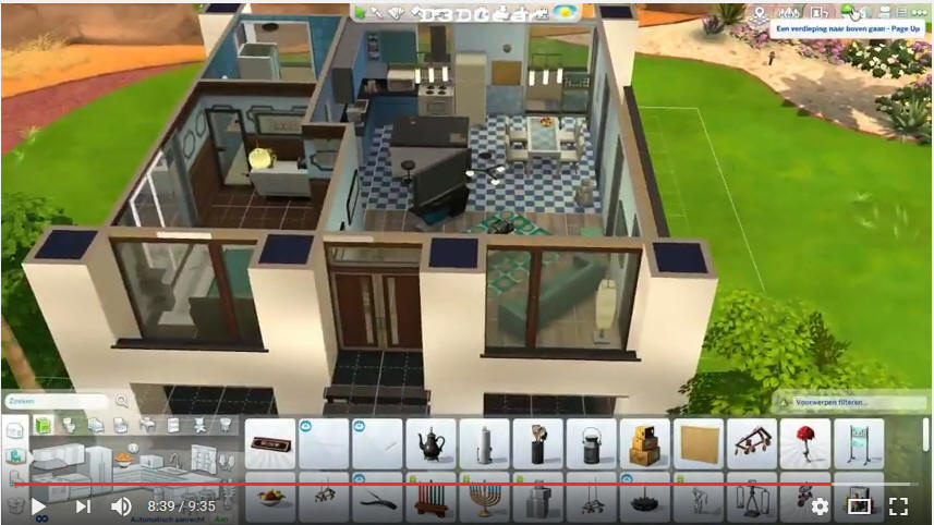 Sims 4 huizen bouwen een klein modern huis video computertaal